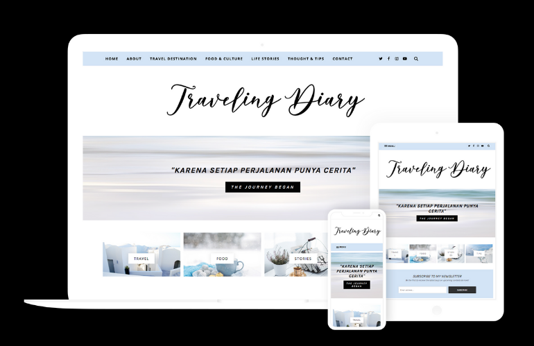 Traveling Diary Feature Image